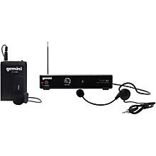 Gemini VHF-01HL Single Headset/Lavalier Wireless System Level 1 Band C8