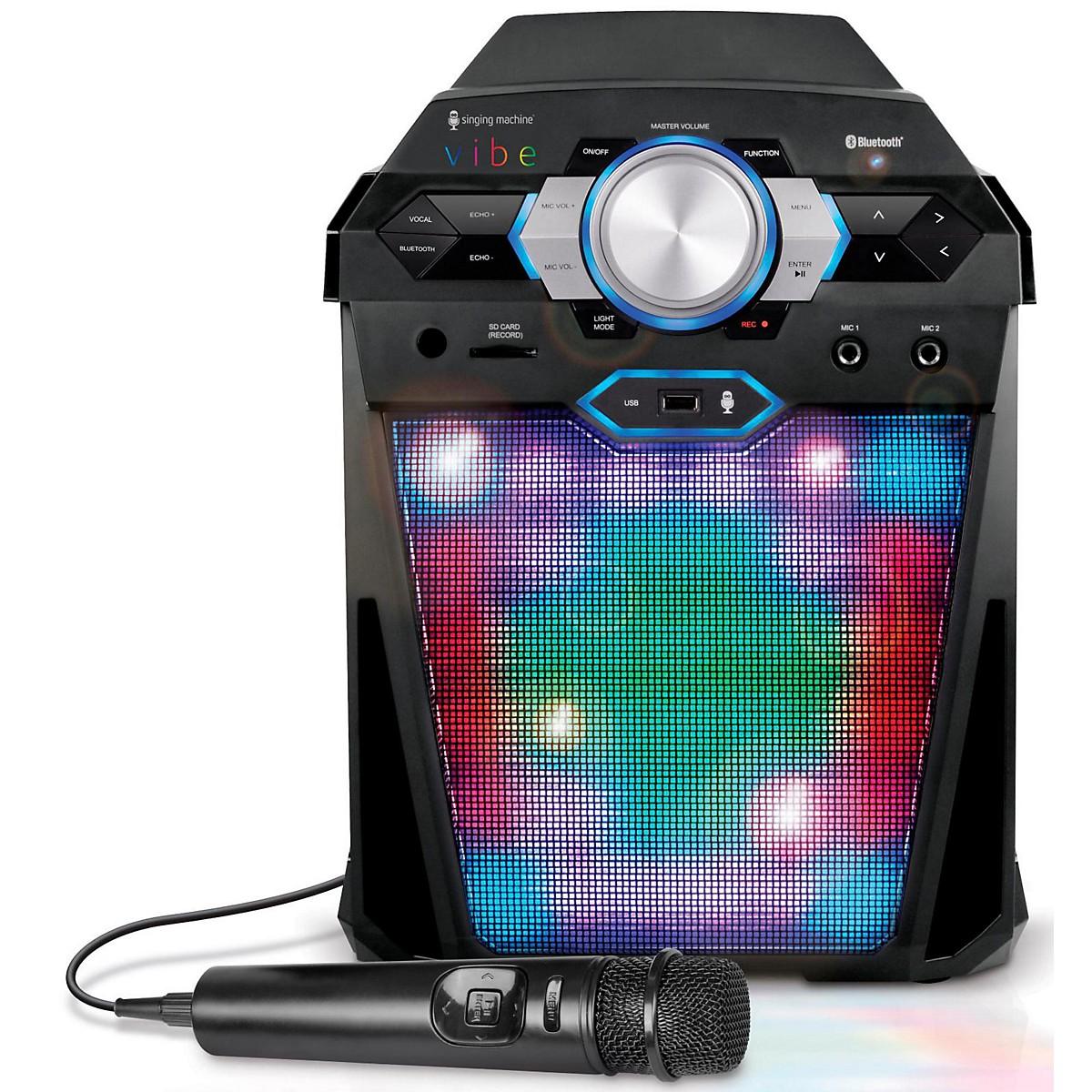 The Singing Machine VIBE Hi-Def Digital Karaoke System