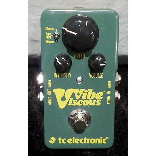 TC Electronic VICIOUS VIBE Effect Pedal