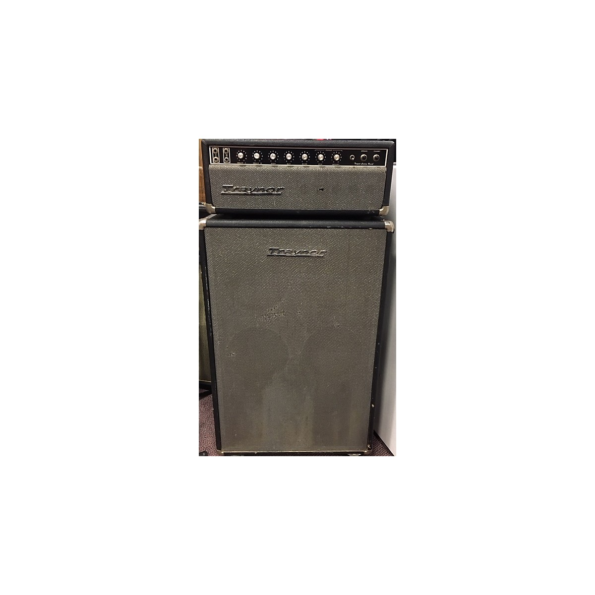 In Store Vintage VINTAGE 1970S TRAYNOR YSR1 WITH CAB TUBE BASS AMP HEAD