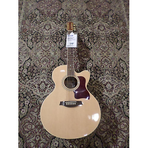 Ventura VJ2NAT Acoustic Electric Guitar