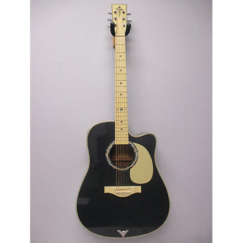 used esteban vl100 acoustic electric guitar guitar center. Black Bedroom Furniture Sets. Home Design Ideas