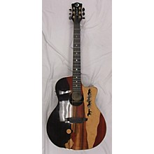 Luna Guitars VMUSTANG Acoustic Electric Guitar