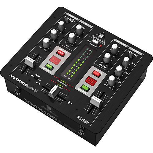 Behringer VMX100USB Professional 2-Channel DJ Mixer