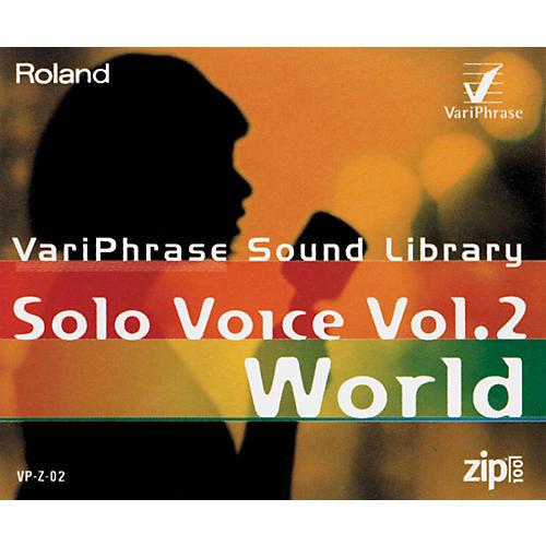 Roland VP-Z-02 VariPhrase Solo Voice Volume 2 World 100Mb Zip Disk