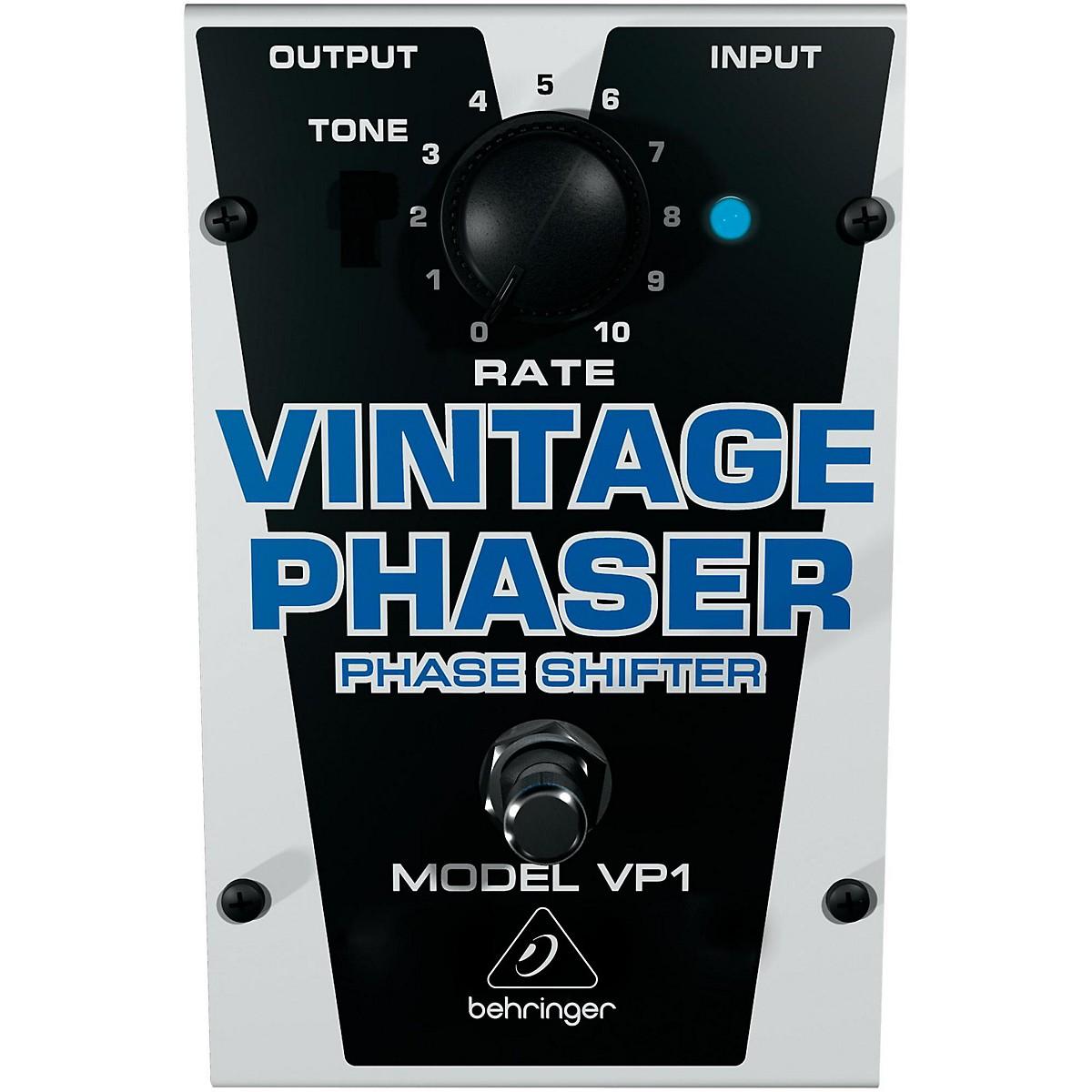 Behringer VP1 Vintage Phaser Effects Pedal