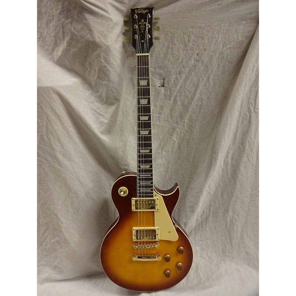 Vintage VP100 Solid Body Electric Guitar