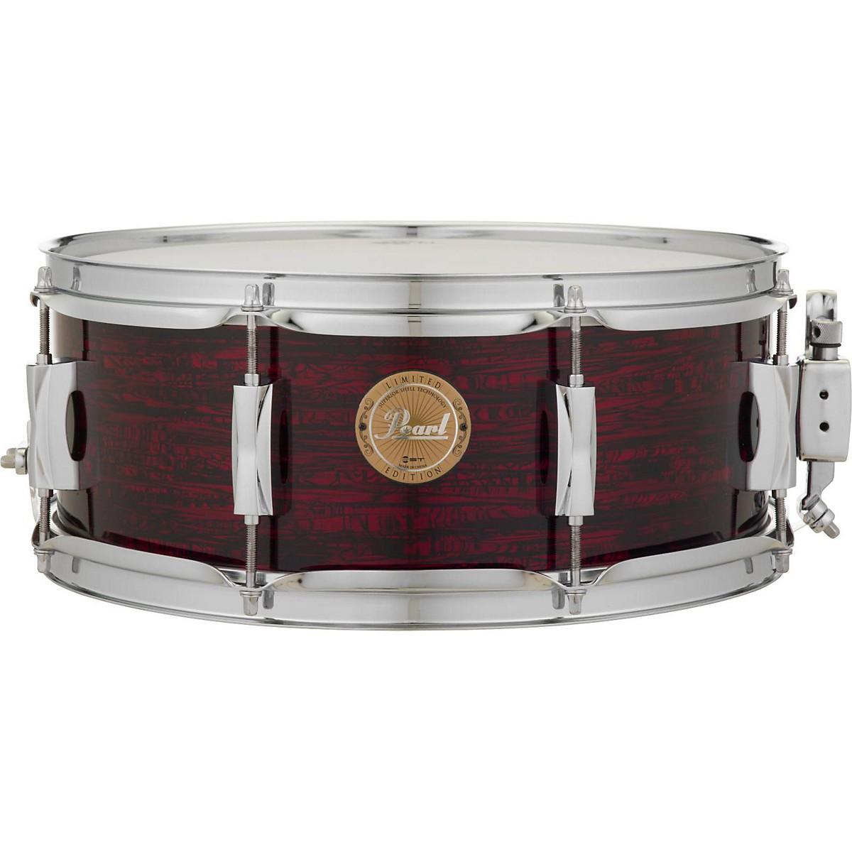 Pearl VPX Strata Red Birch Snare Drum