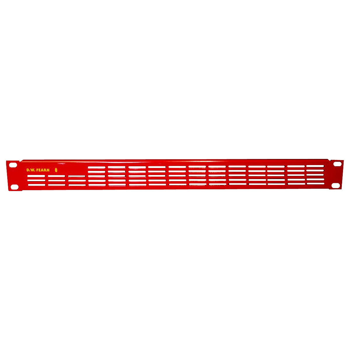 D.W. Fearn VRP-1 Red Vented Rack Panel