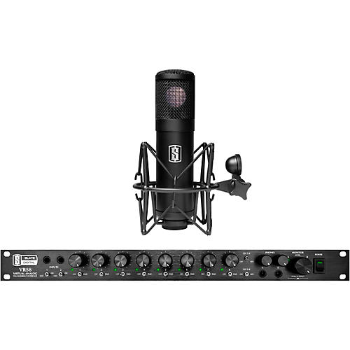 Slate Digital VRS8 Thunderbolt Audio Interface with Free ML-1 Large-Diaphragm Modeling Microphone