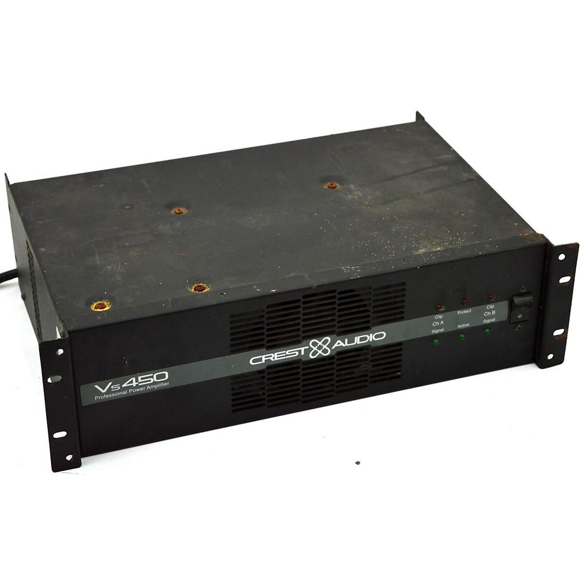 Crest Audio VS450 Power Amp