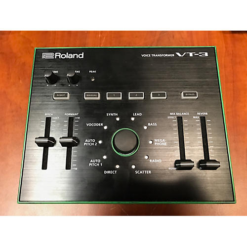 used roland vt 3 voice transformer multi effects processor guitar center. Black Bedroom Furniture Sets. Home Design Ideas