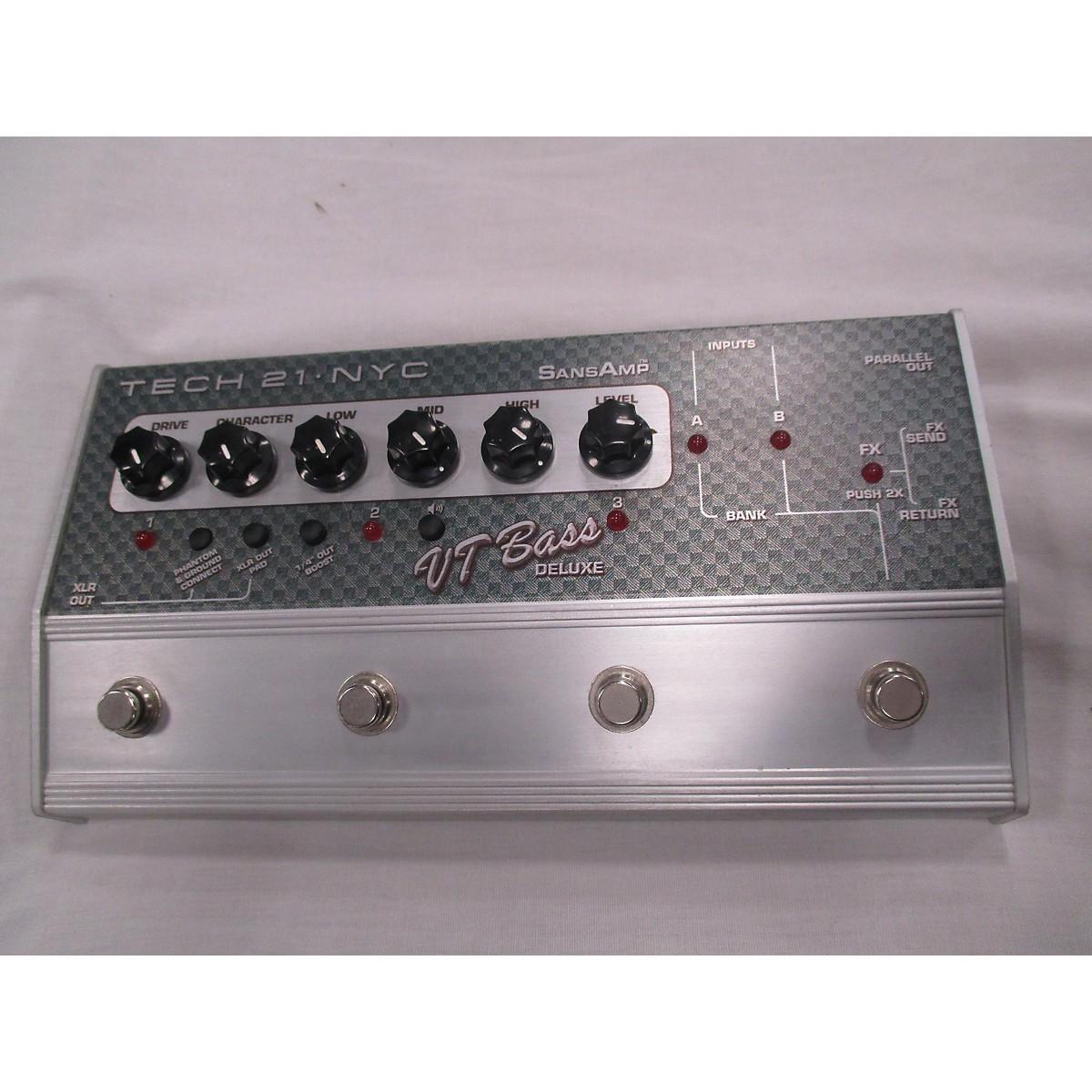 Tech 21 VT Bass Deluxe Effect Pedal