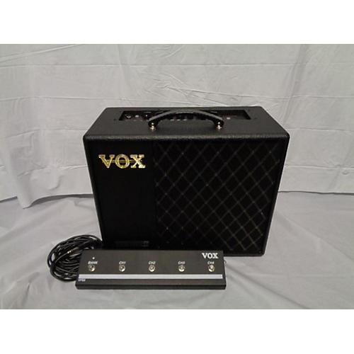 used vox vt40x 40w 1x10 guitar combo amp guitar center. Black Bedroom Furniture Sets. Home Design Ideas
