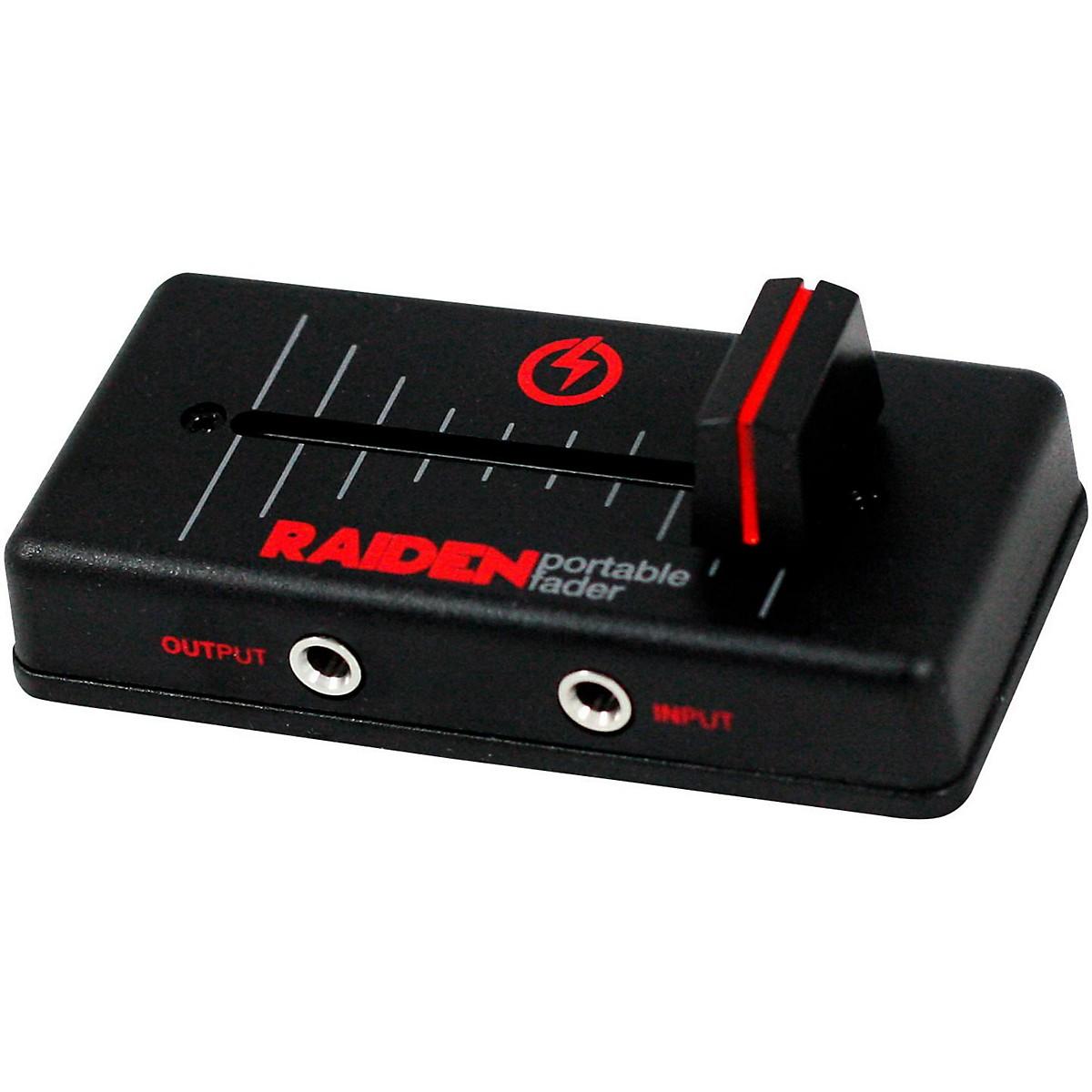 Raiden VVT-MK1 Right Cut Portable Fader - Red/Black