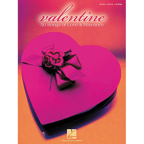 Hal Leonard Valentine Piano, Vocal, Guitar Songbook