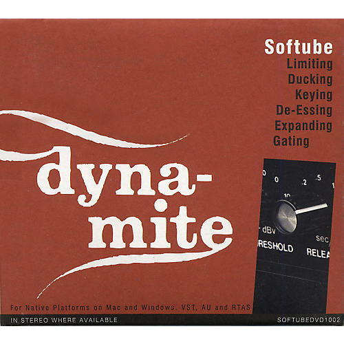Softube Valley People Dyna-Mite Plug-in - Native