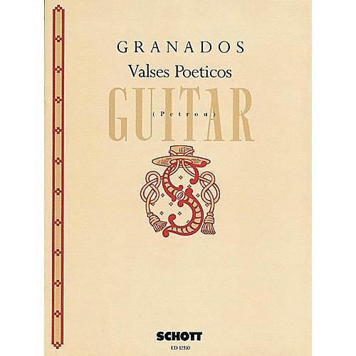 Schott Valses Poéticos (Guitar Solo) Schott Series