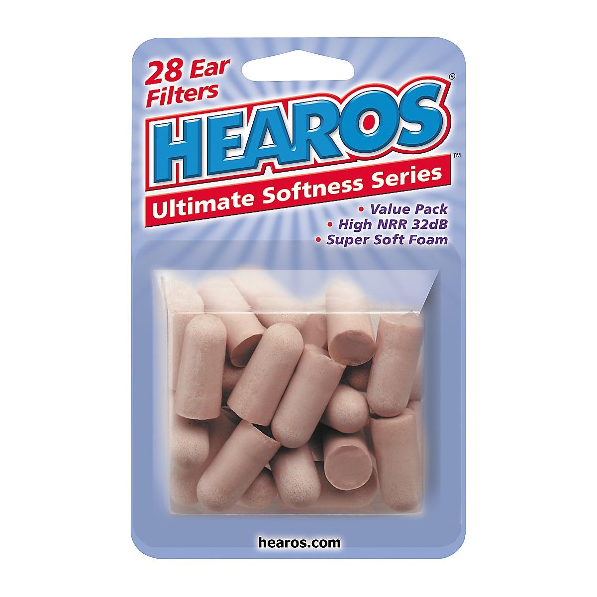 Hearos Value Pack Ear Plugs (28 Pack)