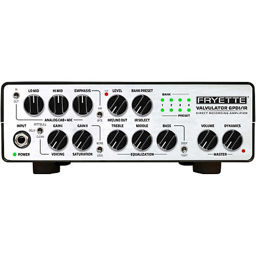 Fryette Valvulator GP/DI IR 1W Tube Direct Recording Tube Amplifier Head