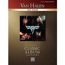 Alfred Van Halen Collection Classic Album Edition Guitar Tab Songbook