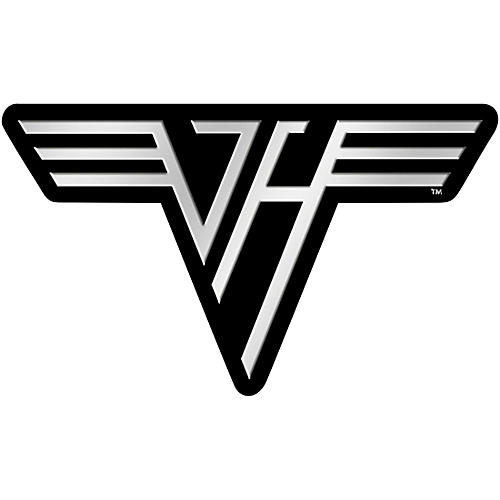 C&D Visionary Van Halen Logo Metal Sticker