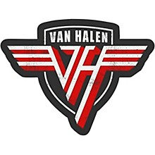 C&D Visionary Van Halen Shield Sticker