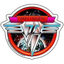 C&D Visionary Van Halen Space Sticker