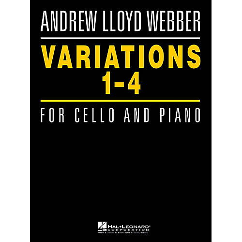 Hal Leonard Variations 1-4 for Cello and Piano Instrumental Series Softcover