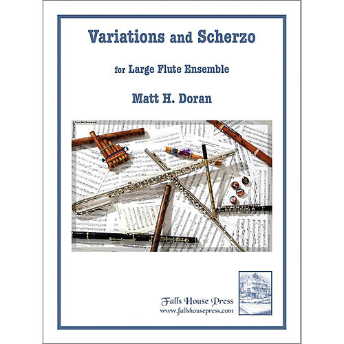 Carl Fischer Variations And Scherzo for Large Flute Ensemble