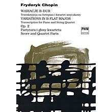 PWM Variations in B Flat Major Op. 2 PWM Series Composed by Frederic Chopin Arranged by Bartlomiej Kominek