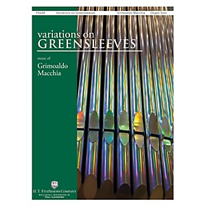H.T. FitzSimons Company Variations on Greensleeves Organ Solo by H.T. FitzSimons Company