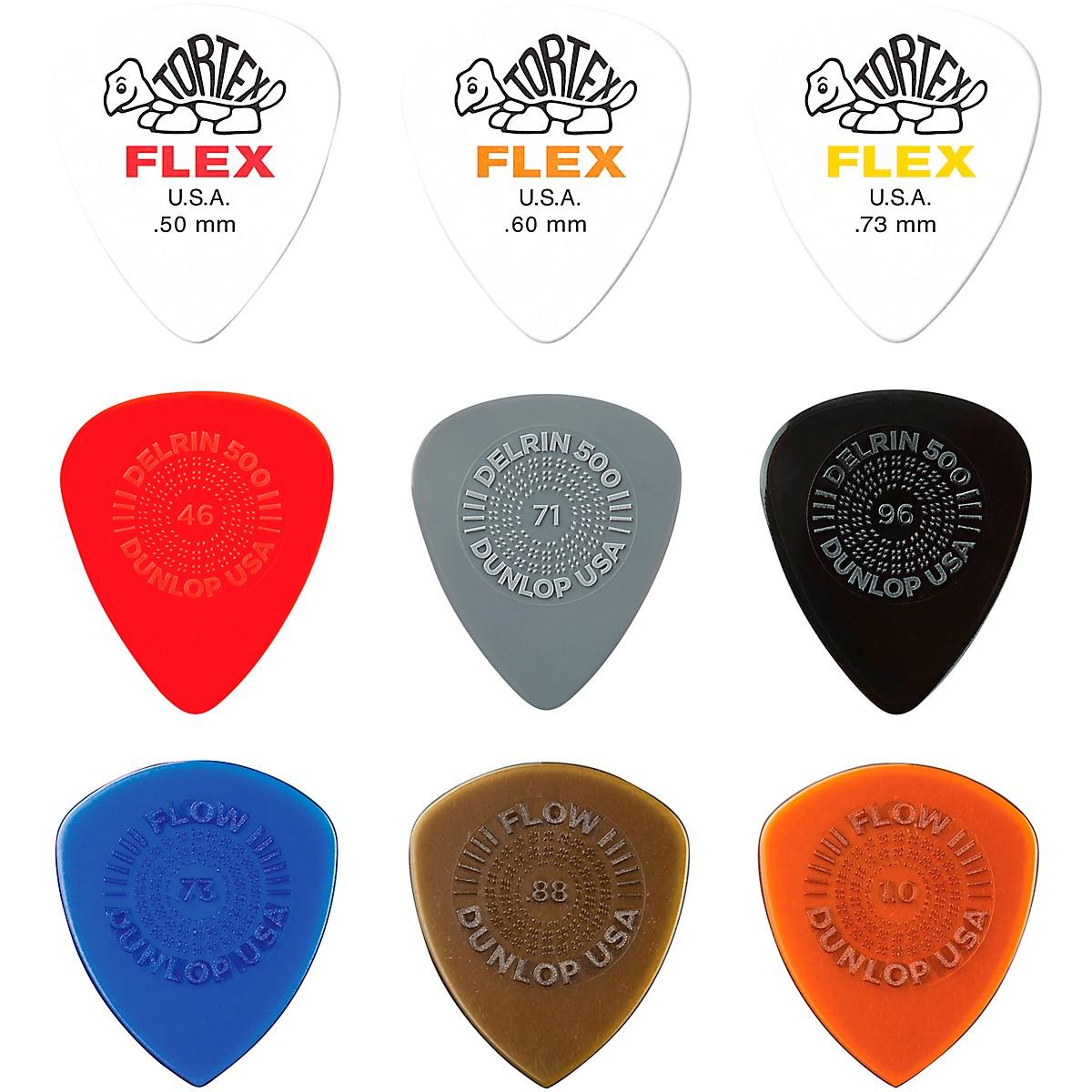 Dunlop Variety Flex/Flow/Prime Grip Pick Pack LT/MD-18