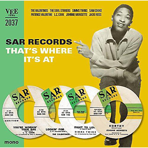 Alliance Various - Sar Records-That's Where It's at / Various