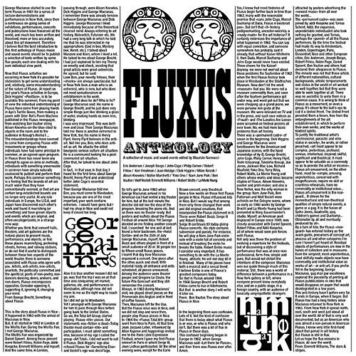 Alliance Various Artists - Fluxus Anthology: Collection Of Music / Various