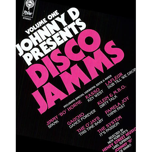 Alliance Various Artists - Johnny D Presents Disco Jamms Vol.1