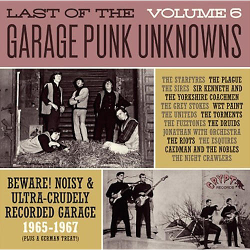 Alliance Various Artists - Last Of The Garage Punk Unknowns 6 / Various