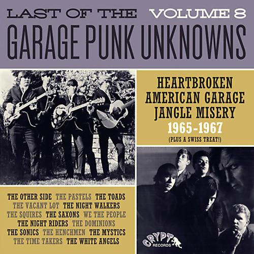 Alliance Various Artists - Last Of The Garage Punk Unknowns 8 / Various
