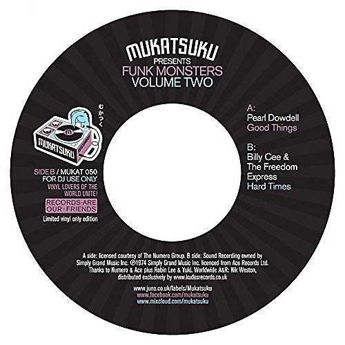 Alliance Various Artists - Mukatsuku Presents Funk Monsters Vol 2 / Various