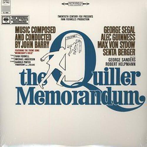 Alliance Various Artists - Quiller Memorandum (Original Soundtrack)