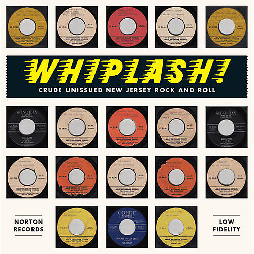 Alliance Various Artists - Whiplash-crude Unissued New Jersey Rock & / Var