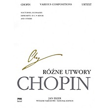 PWM Various Compositions for Piano (Chopin National Edition Volume XXIXB) PWM Series Softcover