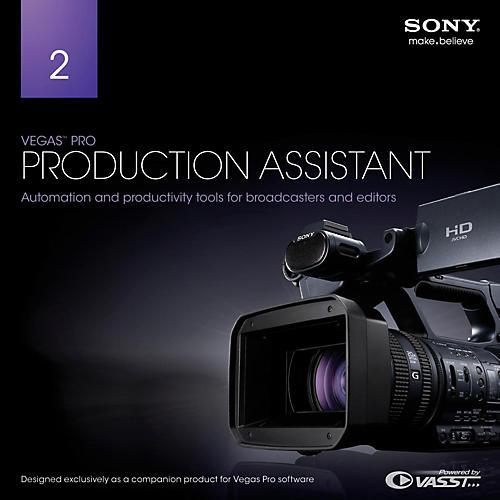 Magix Vegas Pro Production Assistant 2