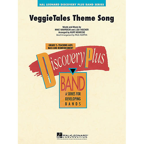 Hal Leonard VeggieTales® Theme Song - Discovery Plus Concert Band Series Level 2 arranged by Paul Murtha