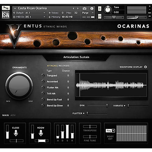 Impact Soundworks Ventus Ocarinas (Download)