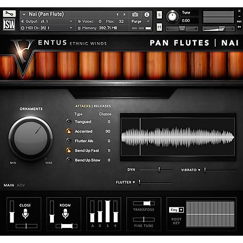 Impact Soundworks Ventus Pan Flutes (Download)