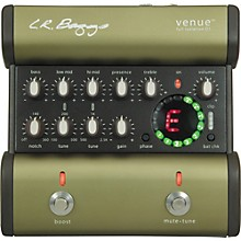 LR Baggs Venue DI Acoustic Guitar Direct Box and Preamp Level 1