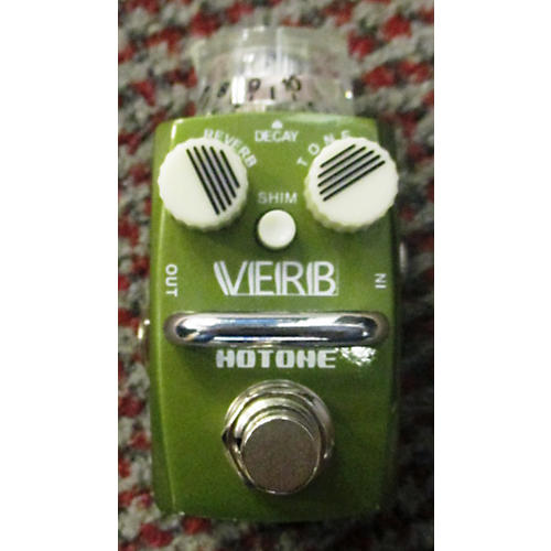 Hotone Effects Verb Digital Reverb Effect Pedal