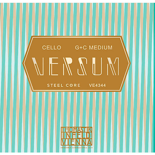 Thomastik Versum Tungsten G and C Cello String Combo Pack