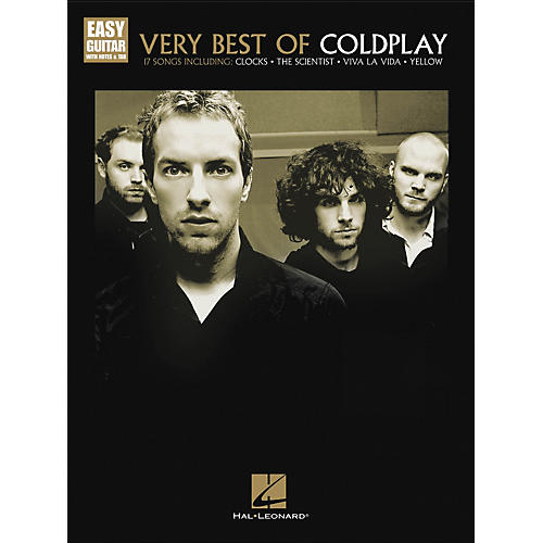 Hal Leonard Very Best Of Coldplay - Easy Guitar With Tab